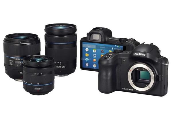 Samsung DSLR Camera with Lenses
