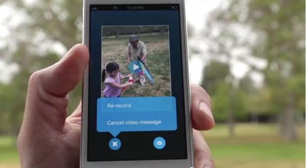 Skype Video Messaging Service