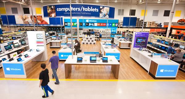 Windows Store in Best Buy Store