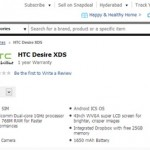 HTC Desire XDS Available Online