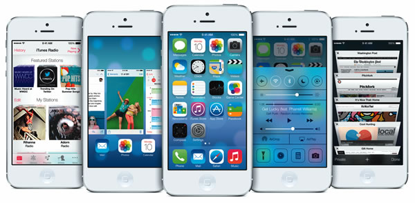 iOs 7 unveiled with new features