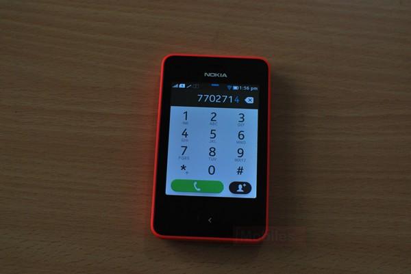 Nokia Asha Dialer