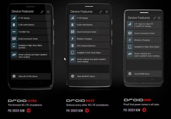 Motorola Droid Phone Specs