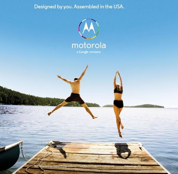 Motorola Moto X Ads appear