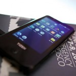 Phone running on Tizen OS