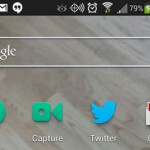 Vine for Android brings Capture Widget
