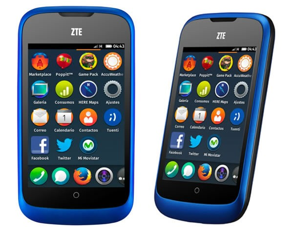 ZTE Open UI with Firefox OS