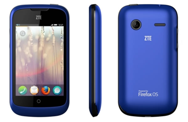 ZTE Open Firefox OS based Smartphone