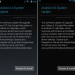 Android Update for HTC One and Galaxy S4