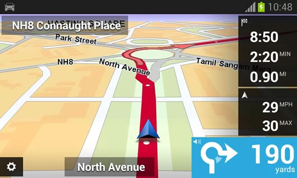 TomTom India Android App Lunahced