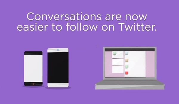 Twitter rolling Conversations UI for Android and iPhone