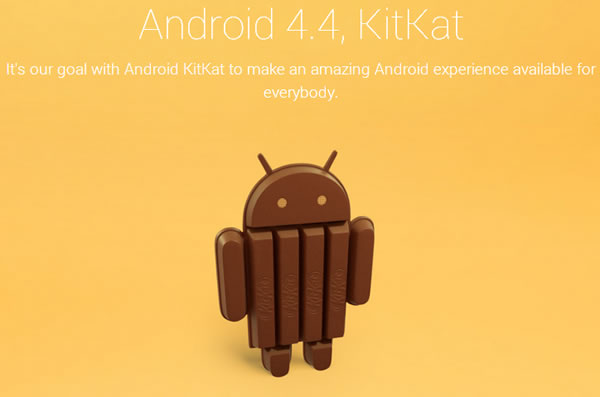 Android 4.4 KitKat announced