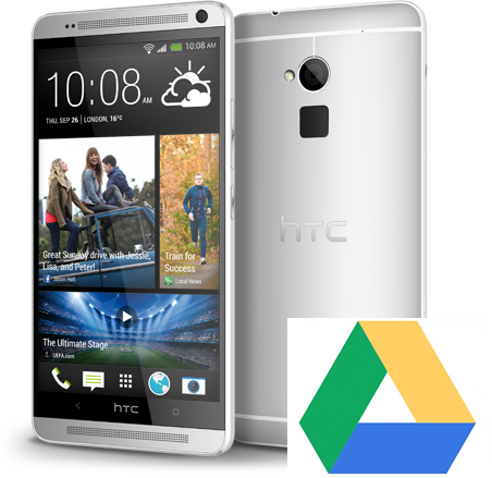 HTC and Google offer free Google Drive Storage