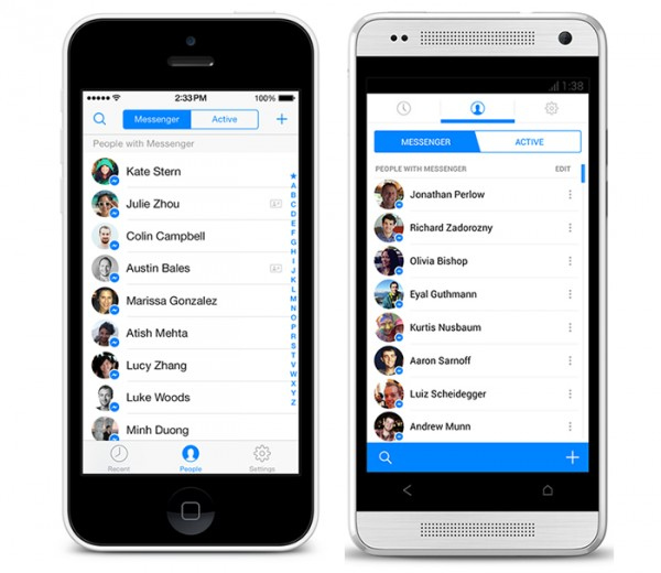 Facebook Messenger Updated