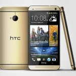 HTC One Gold Color Available Now