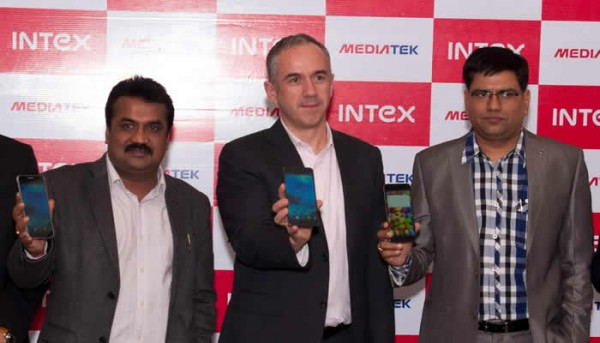 Intex Octa Core Smartphone unveilded