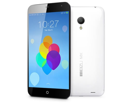 Meizu MX3 now available in China with 128GB storage