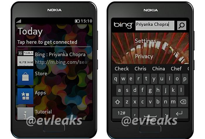 A New Nokia Asha Smartphone leaked