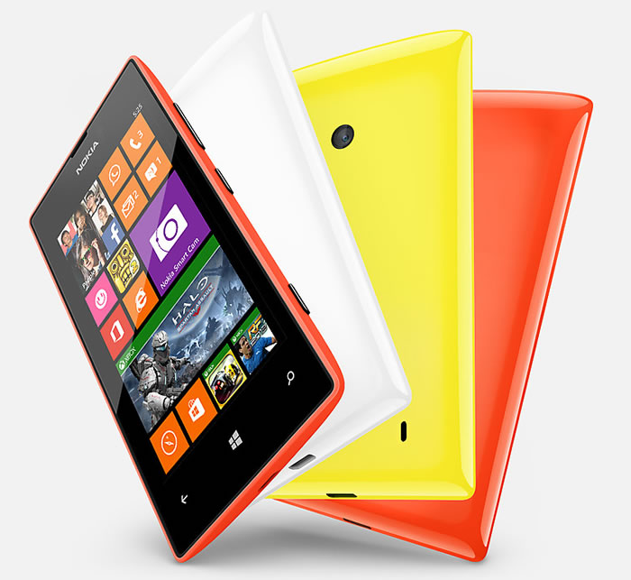 Nokia Lumia 525 comes in four colors