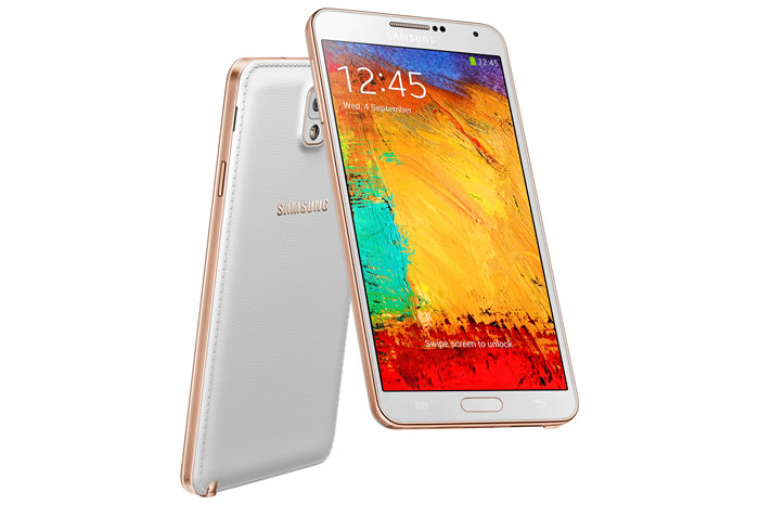 Samsung Galaxy Note 3 Rose Gold Variant