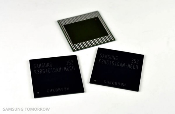 Samsung announces a new 8Gb LPDDR4 RAM
