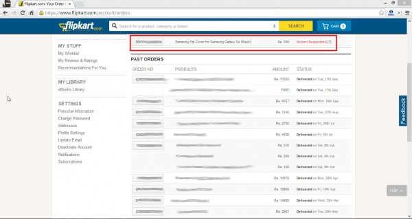 Flipkart and duplicate products