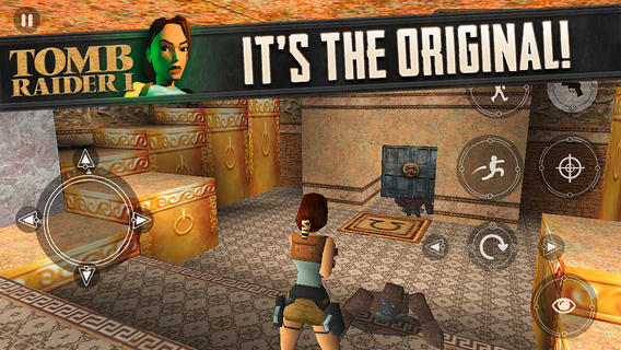 Tomb Raider I is now available for iOS devices