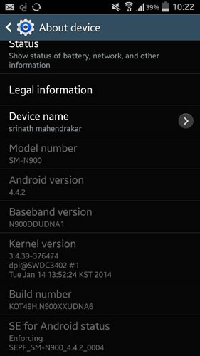 Samsung Galaxy Note 3 getting Android KitKat update in India