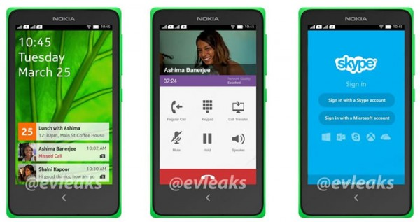 Nokia Normandy UI leaked in press renders