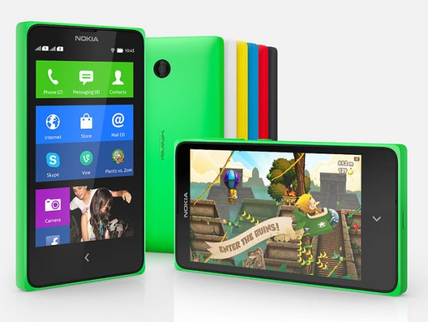 Nokia X Launched in India