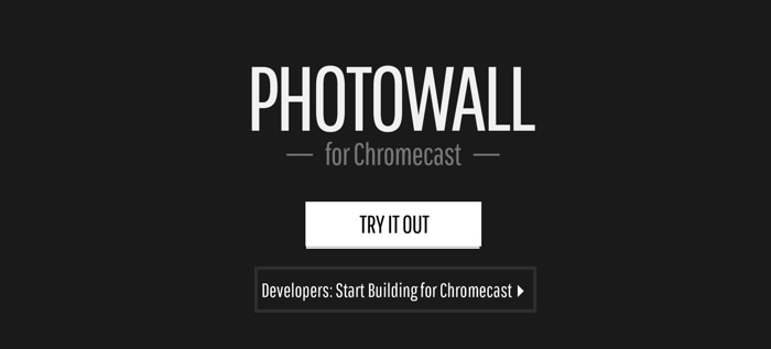 Photowall-Chromecast