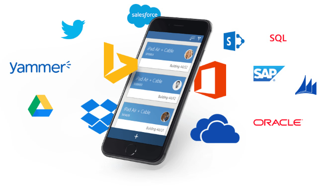 Microsoft launches PowerApps Service